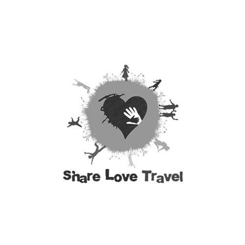 SHARE LOVE TRAVEL LOGO